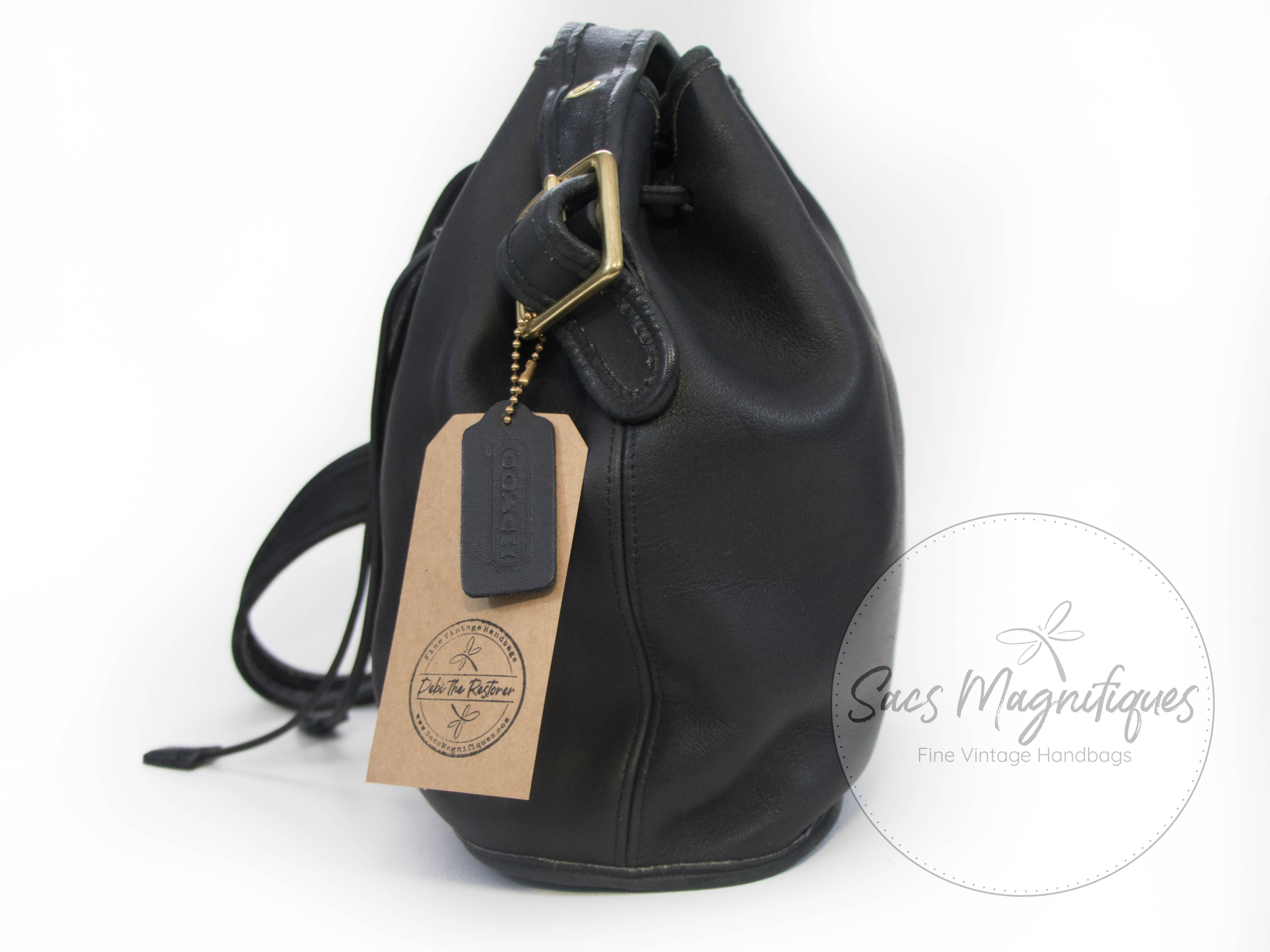 Reserved For Kw Vintage Coach Lula S Legacy Drawstring
